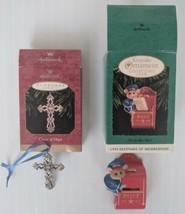 Hallmark Keepsake Christmas Ornaments Lot (2 pieces) - $14.42