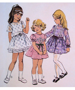 Simplicity 6819 Vintage 1970s Sewing Pattern Unused Girls 6 Skirt Dress - $14.95