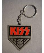 """KISS ARMY LOGO 2"""" METAL KEYCHAIN NEW - $5.74"""
