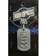 KISS CLASSIC LOGO DOG TAG NECKLACE NEW - $4.86
