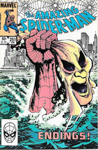 the Amazing Spider-Man Comic Book #251, Marvel Comics 1984 NEAR MINT NEW... - $19.27