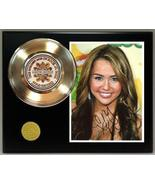 Miley Cyrus Gold Record Signature Series LTD Edition Display - $85.45
