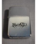 KORN LOGO SILVER TORCH CIGARETTE LIGHTER - $5.74