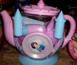 Disney Princess Castle Teapot Teaset NEW Cinderella