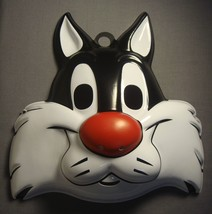 Looney Tunes Sylvester The Cat Halloween Mask Pvc New - $4.17