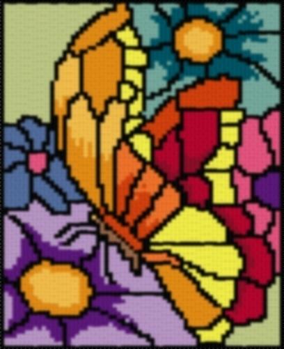 Stainedglassbutterfly
