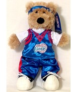 "LOS ANGELES CLIPPERS 14"" CENTER COURT HEADBAND TEDDY BEAR NEW NBA - $18.26"