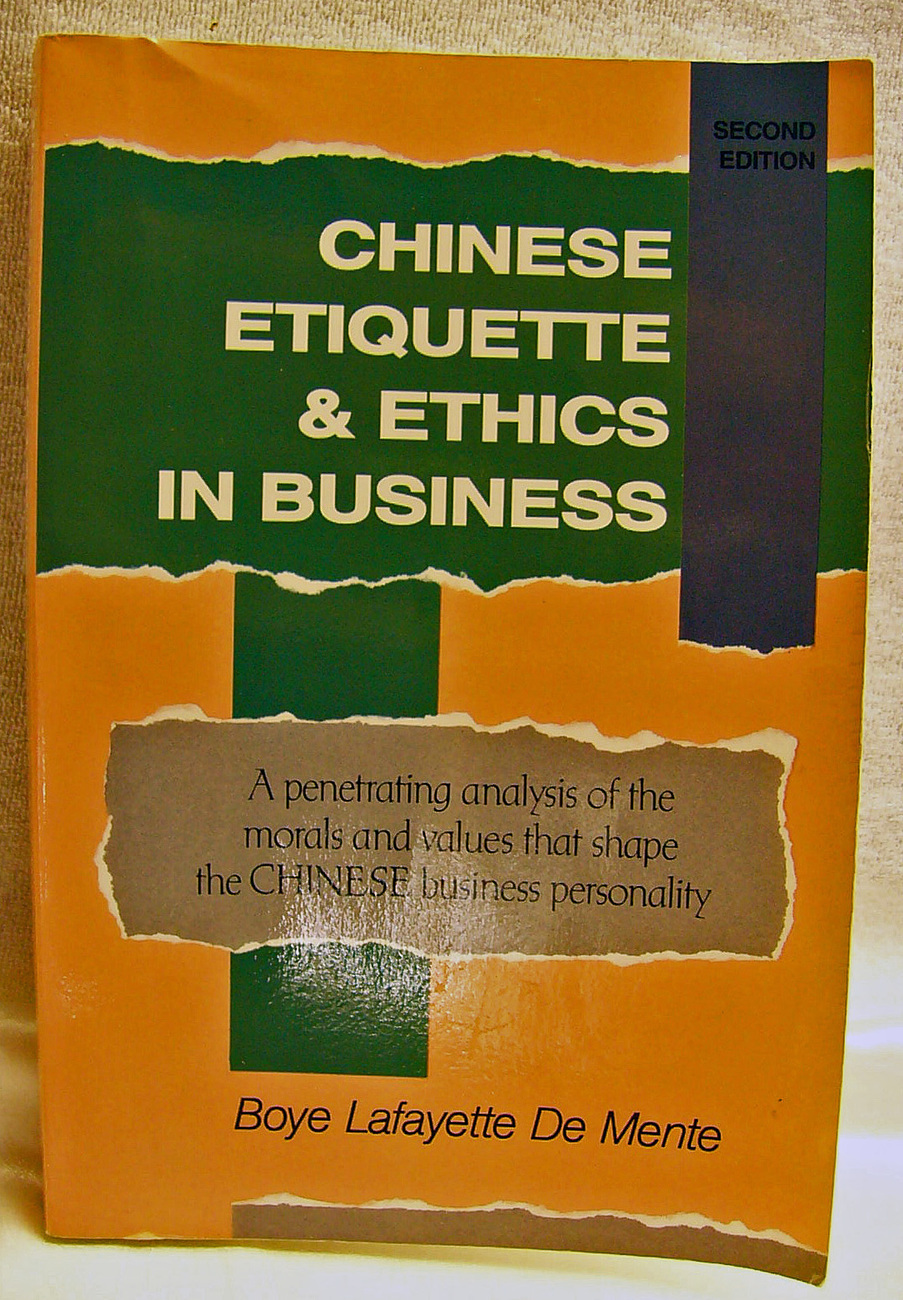 Chinese ethics book
