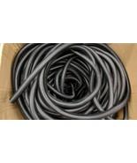 "364 Ft. 3/4"" BLACK SPLIT WIRE LOOM CORREGATED CABLE CONDUIT POLYETHYLENE... - $177.21"