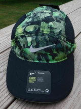NEW! Nike Unisex Tailwind Aerobill Running Hat-Camo/Silver 880087-010 - $59.28