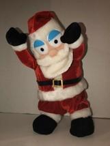 "Gemmy Santa Claus Animated Dancing 13"" Plush Christmas Cha Cha Slide - $70.45"