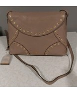 Lauren Ralph Lauren Womens Morley Crossbody Purse Porcini $268 - $104.45