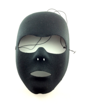 BLACK MASQUERADE BALL FETISH PLAY MASK HALLOWEEN ROLE-PLAY - £18.97 GBP
