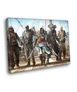 Assassin's Creed 4 Black Flag Pirates Framed Canvas Print - $16.96+