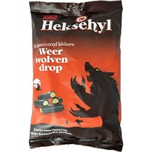 Toms Heksehyl Weerwolvendrop 1000g - Licorice with confectionery filling - $33.62