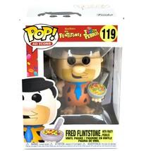 Funko Pop! Ad Icons The Flintstones Fred with Fruity Pebbles #119 Vinyl Figure