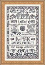 I Corinthians MBT054 cross stitch chart My Big Toe Designs - $18.00