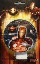 MARVEL COMICS IRON MAN MOVIE SUPER HERO NIGHT LIGHT NEW - $4.86