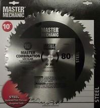 "Master Mechanic 118760 10"" x 80 Tooth Saw Blade 5/8 Arbor - $3.96"