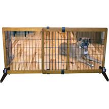 Carlson Pet Brown Freestanding/pressure Mount Wooden Pet Gate 40-70wx28h... - $152.64