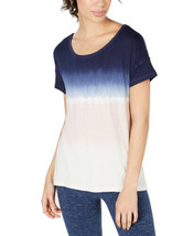Ideology Women's Tie-Dyed Strappy-Back High-Low Hem Blouse T-Shirt Tops - $21.88+