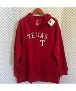 MLB Texas Texans red zip up hoodie jacket - $53.46