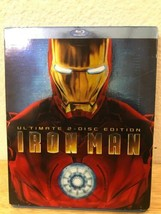 Iron Man (Blu-ray Disc, 2008, 2-Disc Set, Ultimate Edition) W/ Slipcover - $28.20