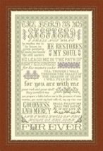 The Lord Is My Shepherd MBT056 cross stitch chart My Big Toe Designs - $18.00