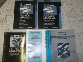 2001 Toyota RAV4 Rav 4 Service Repair Shop Manual Set Factory W Ac Book Dealer - $188.05