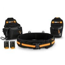 ToughBuilt - Handyman Tool Belt Set 3 Piece 2 Pouches Padded Belt Organi... - $45.49