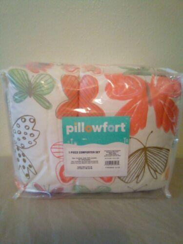 """Toddler  42"""" x 58"""" Comforter Pillowfort Pink Butterflies Sealed new"""