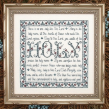 Building Blocks Holy MBT057 cross stitch chart My Big Toe Designs - $8.00