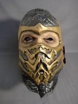Mortal Kombat Scorpion Teen / Adult Latex Halloween Mask New - $27.41