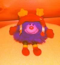 """Rainbow Brite Plush Hatful Purple Sprite HAMMY 6"""" Hallmark Licensed - $8.89"""