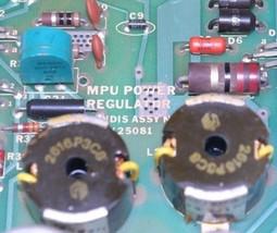 LANDIS A125081 MPU POWER REGULATOR BOARD image 2