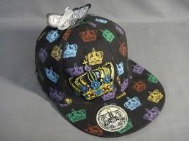 MULTI COLOR FLEX FIT CROWN THEME WIDE BRIM BASEBALL CAP NEW - $7.50