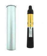 Mini Portable Herbal Vaporizer Vapor with Silver case Gold Color Vaporizer - $14.54