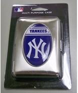 NEW YORK YANKEES TIN MULTI PURPOSE CASE / CIGARETTE CASE NEW MLB - $7.50