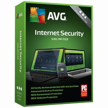 AVG Internet Security 2019 (2 Years / Unlimited Devices) Digital Downloa... - $34.93
