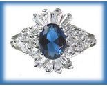Ring sapphire platinum silver thumb155 crop