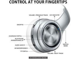 Bluetooth 5.0 Over Ear Wireless Headphones image 4