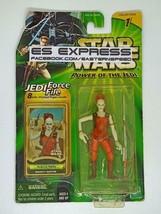 "HASBRO STAR WARS POTJ POWER OF THE JEDI 3.75"" AURRA SING - $19.79"