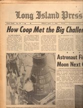 Long Island Press Newspaper  Friday, 5/17/63 - $4.90
