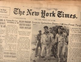 The New York Times Newspaper  Friday,7/ 22/66 - $5.00