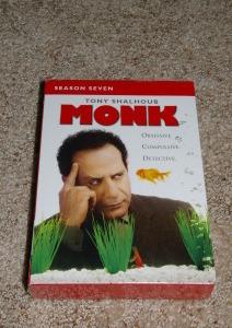 Monk - Season Seven (DVD, 2009)