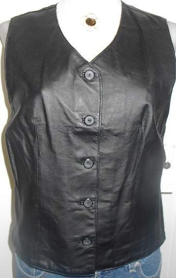 Leather Horse Show Hobby Halter Vest Plus Size XL  - $35.00