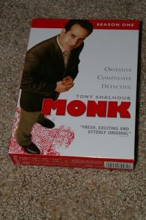 Monk - Season 1 (DVD, 2004)