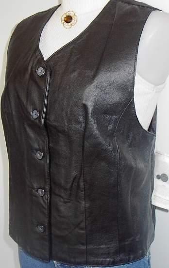 Leather Horse Show Hobby Halter Vest Plus Size XL