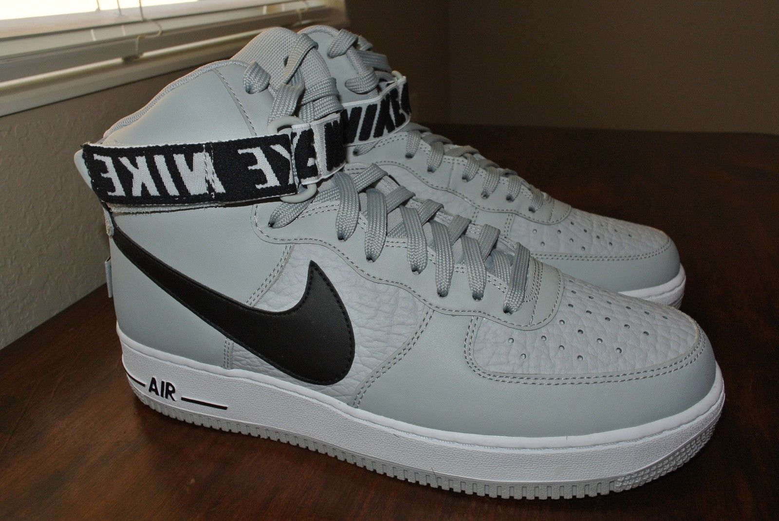 2925c55480c97a NIKE AIR FORCE 1 HIGH  07 NBA PACK FLIGHT SILVER 315121 044 US MENS SIZE