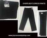 Chaps boys black pants web collage thumb155 crop